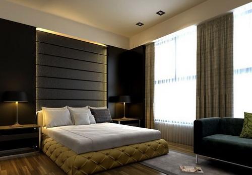 dunklere farbe des modernen stil schlafzimmer 3d model download free 3d models download. Black Bedroom Furniture Sets. Home Design Ideas