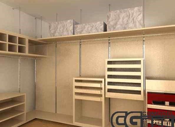 Begehbarer Kleiderschrank 3d Model Download Free 3d Models