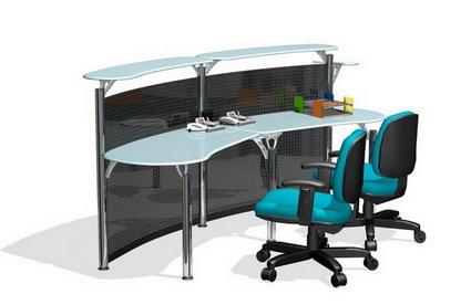 Schreibtisch und stuhl 3d model download free 3d models for Schreibtisch 3d modell