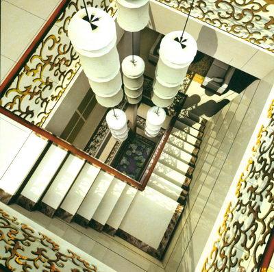 ... Villa, Stadthaus, Foyer, Flur, Treppenhaus, Zeitgenössische Kunst,  Moderne Linie, Landschaft, Die Material, 3D Modell, Free Download, 3ds Max
