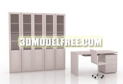 B cherschrank schreibtisch 3d model portfolio 3d model for Schreibtisch 3d modell