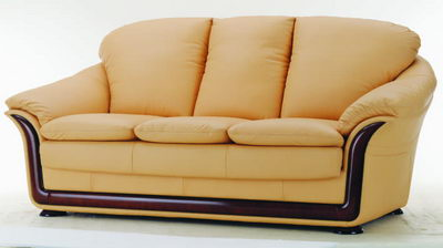Gelbe Sofa 3D Model Home