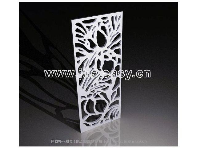 3D Modell Des Modernen Designs Skulptur Gitter (einschließlich Materialien)