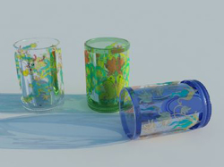 Personalisierte Kinderb¨¹cher Glas 3D-Modell