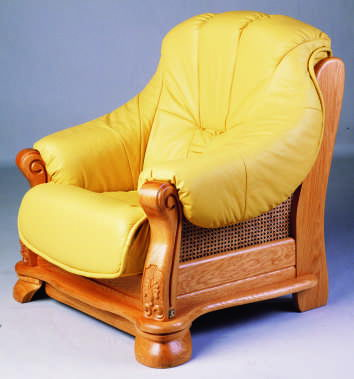 gelbe ledersofa holz stuhl 3d modell des menschlichen. Black Bedroom Furniture Sets. Home Design Ideas