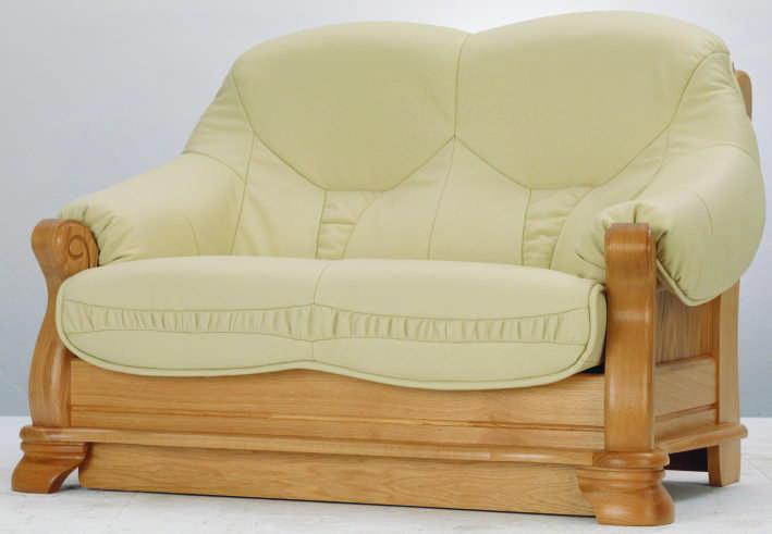 gr ne ledercouch holz stuhl 3d modell des ende 3d model. Black Bedroom Furniture Sets. Home Design Ideas