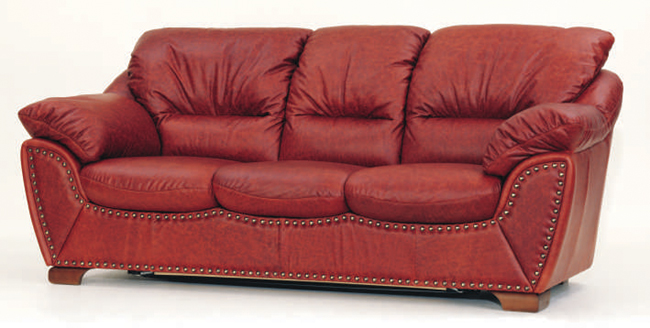 european style dunkelroten sofa 3d modell als 3d model. Black Bedroom Furniture Sets. Home Design Ideas