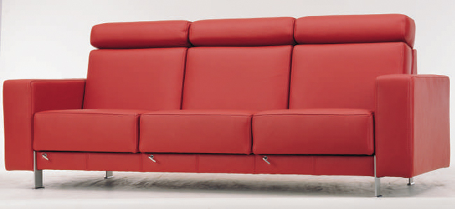 rote ledercouch 3d modell als 3d model download free 3d. Black Bedroom Furniture Sets. Home Design Ideas