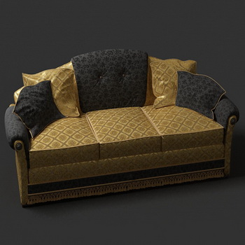 europ ischen luxus sofa 3d modell als 3d model download. Black Bedroom Furniture Sets. Home Design Ideas