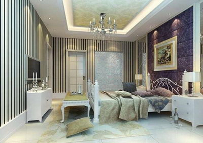 Einfache und elegante schlafzimmer modell 3d model download free 3d models download - Elegante schlafzimmer ...