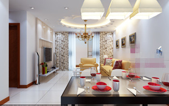 identity fashion stil wohnzimmer 3d modell 3d model