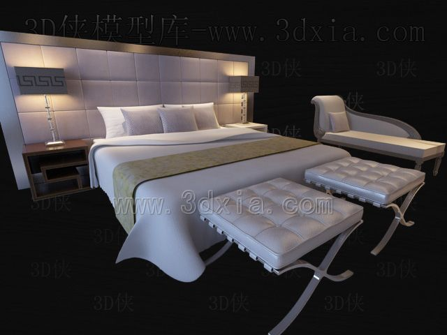 Bed 3d modell download free 3d model download free 3d for Lampen 3d modelle