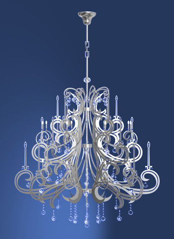 modern european kristall kronleuchtern erleichterung 3d model download free 3d models download. Black Bedroom Furniture Sets. Home Design Ideas