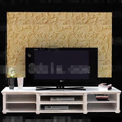 moderne weisse double layer tv schrank