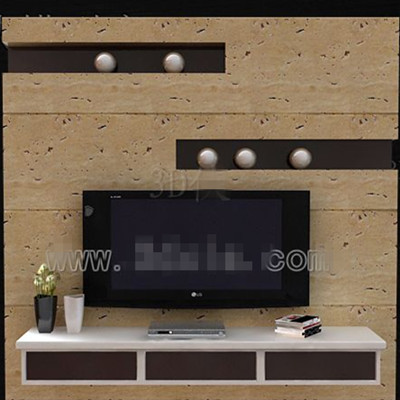 Braune Und Wei 223 E Mode Tv Wand 3d Model Download Free 3d