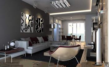 Moderne markanten Farben Wohnzimmer 3D Model Download,Free 3D Models ...