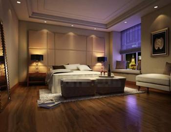 Moderner Luxus Und Komfortables Schlafzimmer