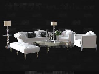 Moderne Kortikalen Wei 223 En Sofa Kombination 3d Model