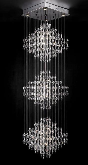 ultra moderne kristall kronleuchter 3d model download free 3d models download. Black Bedroom Furniture Sets. Home Design Ideas