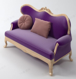 Fashion lila Sofa Modell Multiplayer