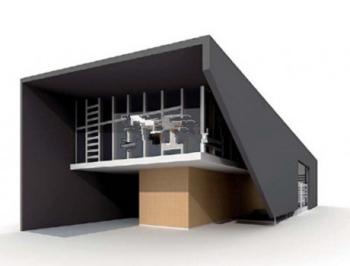Kleine moderne villa modell 3d model download free 3d for Model de villa moderne