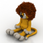 Lion Puppe Modell
