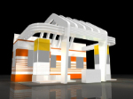 creative arts hall 3d - modelle