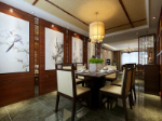 Chinese-Restaurant 3D-Modell Hause