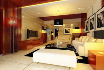 Großes Wohnzimmer Luxus modernen 3D-Modell 3D Model Download,Free 3D ...