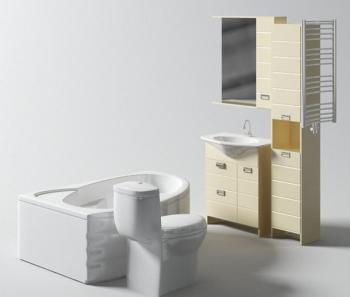 familie badezimmer 3d modelle 3d model download free 3d models download. Black Bedroom Furniture Sets. Home Design Ideas