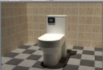 WC 3D-Modell