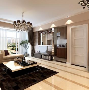 Moderne Wohnzimmer 3D Modell Design Prägnante Art Und Weise