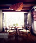 Chinese exquisite Lounge 3D-Modell